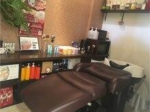 ラニ ヘアメイクアンドスパ(LANI Hair Make&SPA)の雰囲気(スパ専門店ならではの、リラックスできる個室スパルーム☆)