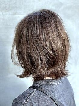 ブリック ヘアアンドスパ(BRICK HAIR&SPA)の写真/カラーやヘアケアだけでなくカットもお任せ下さい!繊細な技術×寄り添う丁寧なカウンセリングに定評あり◎
