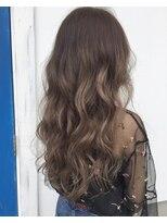 ハロ (Halo hair design)グラデーションアッシュグレー