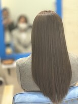 スローライフヘアーデザインアンドスパラウンジ(Slow life Hair design spa lounge)重めのストレートロングスタイル