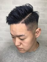 ネイビーカラー 鬼滅の刃 barber
