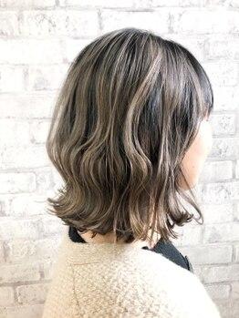 ヘアダイニング ボア(hair dining BoA's)の写真/《水沢/キッズスペース有》PLEX取扱い店☆芯が強い素髪のような指触りでダメージレスにデザインを楽しむ―