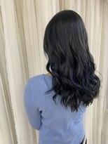 ヘアアンドメイクグラチア(HAIR and MAKE GRATIAE)暗髪 ブルーサファイア