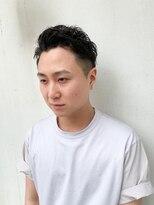 ヘアー アイス カンナ(HAIR ICI Canna)フェード×ピンパーマ