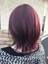コレット ヘアー 大通(Colette hair)夏に向けて発色強いモーブピンク