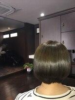 髪の美院 シャルマン ビューティー クリニック(Charmant Beauty Clinic)アッシュボブ