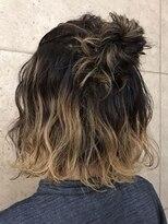 アールプラスヘアサロン(ar+ hair salon)グラデーション3Dカラー