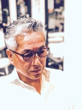 オムヘアーツー (HOMME HAIR 2)Itarian Barber style. Hommehair2nd櫻井