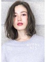 ヘアサロン ガリカ 表参道(hair salon Gallica)『 ダメージレスパーマ 』×『 グレージュ 』切りっぱなしボブ