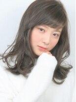 ヘアメイクエシェル 小松店(Hair Make e‐shell)外ハネレイヤーが可愛いセミディースタイル