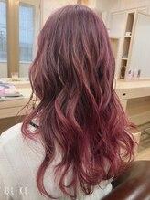マリブ ヘアリゾート みどり店(malibu hair resort)おピンク好きのあなたに♪