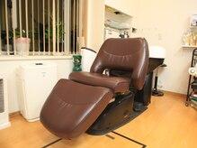 ビューティーサロン グレイス(Beauty Salon GRACE)の雰囲気(フルフラットのシャンプー台、人間工学に基づいたチェアを採用♪)