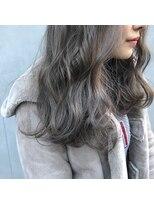アリーズヘアー 青山(allys hair)透明感たっぷり柔らかグレージュ フェアリーウェーブ