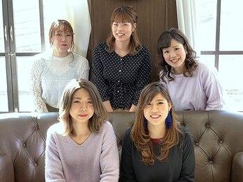 ジーテ プロデュース(gite produce by L'Aube)の写真/OPEN以来話題!!トップクラスのスタイリストが女性の髪の悩みにとことん向き合います。【新宮の美容室gite】
