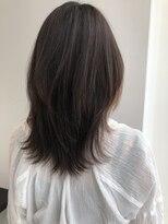 アリーズヘアー 心斎橋OPA(allys hair)アレンジ簡単レイヤースタイル