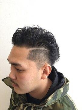 外国人風メンズパーマ L009632502 エムズ ヘア スタイル M S Hair