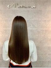 ナチュラル 郡山店(Natural)艶髪ストレート☆髪質改善トリートメントで美髪