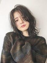 アルバム シブヤ(ALBUM SHIBUYA)うざバングカジュアルミディ_くびれミディ_24636