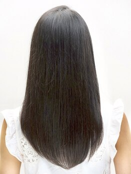 モガ(moga)の写真/【髪質改善】髪のハリやコシが気になり始めた方におすすめ!くせ毛や髪質を見極め最適な施術でサラ艶髪に☆