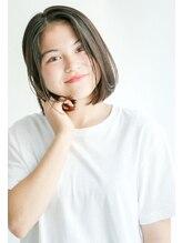ムルチュラ(muruchura)センターパート◎オリーブカーキのフレンチボブ2 合田恵生