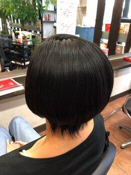 SIN美髪研究所の写真/【敏感肌の方/健康重視の方に◎】天然オーガニックハーブカラーでオシャレ染めも白髪染めも美髪スタイルへ!