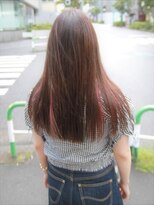 ヘアー ライズ(hair RISE)プチインナーカラーミューズカラーホワイト30代