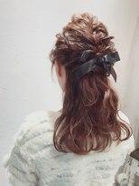 アリス ヘア デザイン(Alice Hair Design)Alice☆ハーフリボンアレンジ