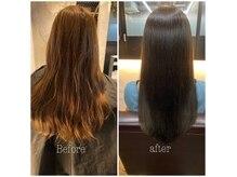 ロイル(Loeyle)の雰囲気(Before/after綺麗なカラーとヘアエステで髪質改善。)