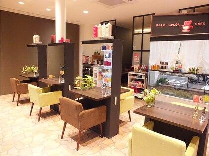 ヘアカラーカフェ(HAIR COLOR CAFE)の写真