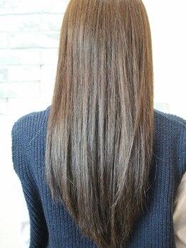 ヘアーショップウィッシュ(Hair shop wish)の写真/薬剤・技術にこだわりがある[wish]収まりが良くなり、朝のスタイリングも時短で自然な仕上がりに◎