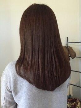 ヘアースペース トム(Hair Space TOM)の写真/【Hair Space TOM】では数種類のトリートメントをご用意☆あなたにピッタリのトリートメントを見つけて♪