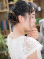"*+COVER HAIR+*…ニュアンス感ある""こなれ""アレンジa"