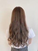 ヘアーフィールズ ルイス 本店(Hair feels LUIS)ゆるふわ シアーグレージュ