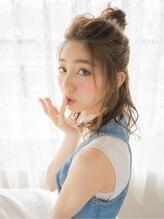 オジコ(ojiko)☆月曜営業☆ojiko.大人可愛いゆるふわお団子ハーフアップ