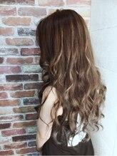 ヘアーメイクチック(HAIR MAKE CHiC)艶バリヤージュカラー