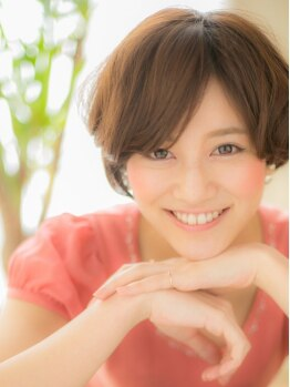 アニモ 吉川店(animo)の写真/実力派スタイリストが丁寧なカットで扱いやすいスタイルにしてくれるから、こだわる大人女性にもお勧め♪