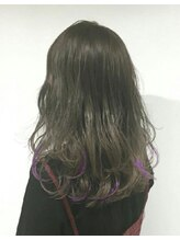 エメールヘア(aimere hair)パープルインナーカラー
