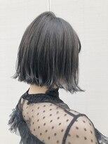 ビーチェ 渋谷(Bice)透ける地毛風カラー×カジュアルボブ【Bice渋谷】