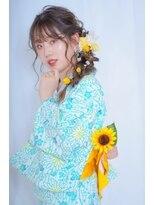 夏っぽ。浴衣編み下ろしアレンジ☆muroi