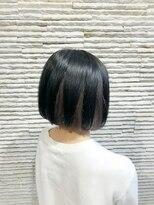 ビス リアン 川口店(Vis lien)大人可愛い/ベージュ/大人インナーカラー/ストレートボブ/小顔