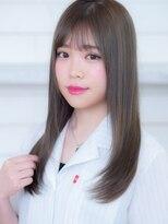 オーブ ヘアー ルル 京都四条通り店(AUBE HAIR lulu)透明感◎シースルーバング