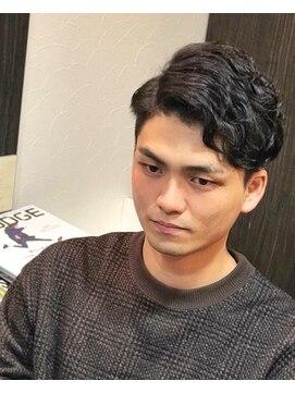 オムヘアーツー (HOMME HAIR 2)#ジェントル #barberstyle #サイドパート #hommehair2nd櫻井