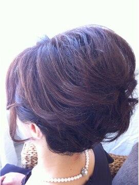 結婚式の髪型(ヘアアレンジ) エレガントSET