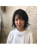 ヘアーチェリーコーク ランプ(HAIR CHERRY COKE Lamp)【新開】甘辛MIXボブ