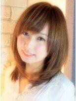 ヘアーデザイン リント(hair design Rinto)-5歳若く見える春のおすすめミディアムスタイル