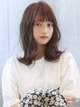 ヘアリゾート ブーケ(hair+resort bouquet)【bouquet】くびれセミディ×アッシュブラウン