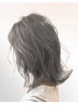 オーブ ヘアー アムール 学芸大学店(AUBE HAIR amour)【AUBE HAIR】グレージュレイヤー_セミディ