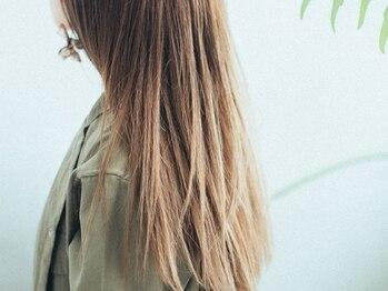 ヘアサロン ハダル(hair salon HADAR)の写真/毛先まで丁寧にデザインする<HADAR>自慢のナチュラルストレート!柔らかな手触りとサラサラな指通りへ♪