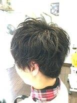 フェリーク ヘアサロン(Feerique hair salon)ショートマッシュパーマ
