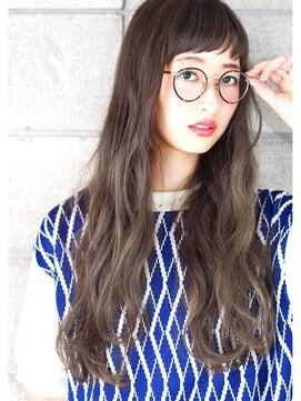 ヘアサロン ガリカ 表参道(hair salon Gallica)☆ グレージュ × クセ毛風ウエーブ ♪ long style ☆